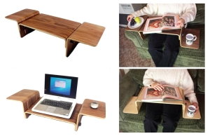 Simple but not too elegant laptop support yet flexible to user's needs.